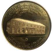Medal - California State Numismatic Association (79th Convention) – avers