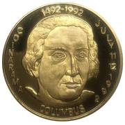 Medal - Inter-Club Numismatic Council (35th Coinarama, Christopher Columbus) – avers