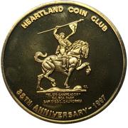 Medal - Heartland Coin Club (35th Anniversary) – avers