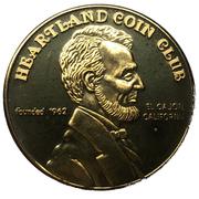 Medal - Heartland Coin Club (35th Anniversary) – revers