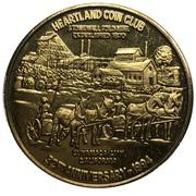 Medal - Heartland Coin Club (32nd Anniversary) – avers