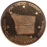 Medal - Inter-Club Numismatic Council (37th Coinarama, Tunaman's Memorial) – revers