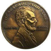 Medal - Heartland Coin Club (33rd Anniversary) – revers