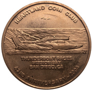 Medal - Heartland Coin Club (42nd Anniversary) – avers