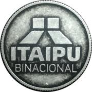 Token - Itaipu Binational (Foz do Iguaçu - Conductive Tube) – revers