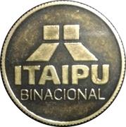 Token - Itaipu Binational (Foz do Iguaçu - World Record) – revers