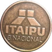 Token - Itaipu Binational (Foz do Iguaçu - Spillway) – revers