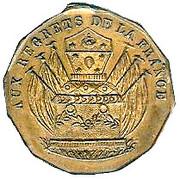 LOUIS-PHILIPPE Ier Ferdinand Philippe , DUC D'ORLEANS – revers