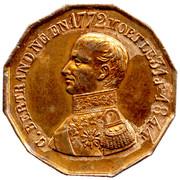 Medallion - Death of G. Bertrand – avers