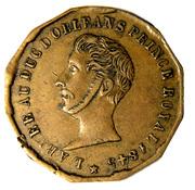 Ferdinand Philippe, Duc d'Orléans – avers
