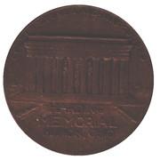 Medal - Warren G. Harding Memorial (Marion, Ohio) – revers