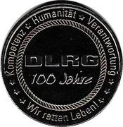 Jeton - 100e anniversaire de DLRG – avers