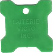 Bon pour 1 pinte - Laiterie Victo Inc. (Victoriaville, Québec; plastique vert) – avers