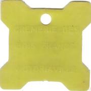 Bon pour 1 pinte - Crèmerie des Bois Francs (Victoriaville, Québec; plastique jaune) – avers
