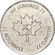 Token - International Federation of Information Processing (Toronto, Ontario) – avers