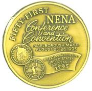 New England Numismatic Association / 51st Convention – revers