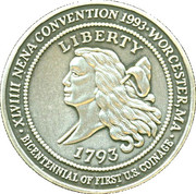 Token - New England Numismatic Association (49th Convention) – revers