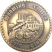 Token - Wyoming Valley Coin Club (Lehigh & Susquehanna Railroad) – revers