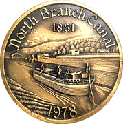 Token - Wyoming Valley Coin Club (North Branch Canal) – avers