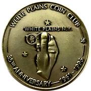 Medal - White Plains Coin Club (35th Anniversary) – avers