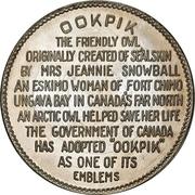 Token - Ookpik the friendly owl – revers
