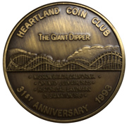 Medal - Heartland Coin Club (31st Anniversary) – avers
