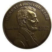 Medal - Heartland Coin Club (31st Anniversary) – revers