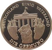 Jeton - Deutschland einig Vaterland (Die Öffnung) – revers