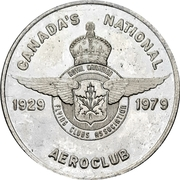 Token - Royal Canadian Flying Clubs Association (50th Anniversary) – avers