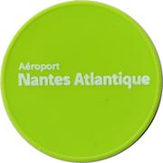Jeton de chariot Vinci airports (Nantes Atlantique) – revers
