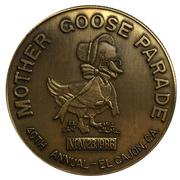 Medal - Mother Goose Parade (El Cajon Valley Kiwanis) – revers