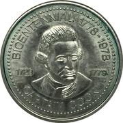 Jeton - Captain James Cook Bicentennial (Port Alberni, BC) – avers