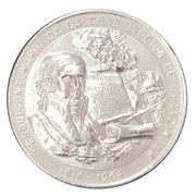 Medal - 150th Anniversary Constitution Apatzingan – avers