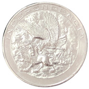 Medal - 150th Anniversary Constitution Apatzingan – revers
