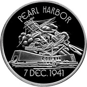 Official Commemorative Medallion - Pearl Harbor – avers