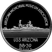 Official Commemorative Medallion - Pearl Harbor – revers
