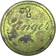 "Jeton - Ginger (Counterstamped ""&"") – avers"