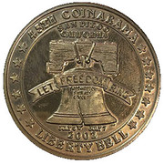 Jeton - Inter-Club Numismatic Council (45th Coinarama, Liberty Bell) – avers