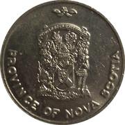 Medallion - Province of Nova Scotia (Elizabeth II Silver Jubilee) – avers