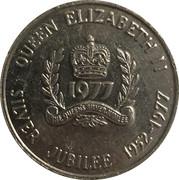 Medallion - Province of Nova Scotia (Elizabeth II Silver Jubilee) – revers