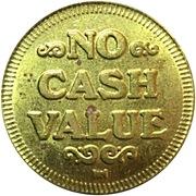 Jeton - Game Token (No Cash Value) – revers