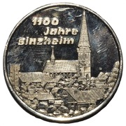 Jeton - 1100th Anniversary of Sinzheim – avers
