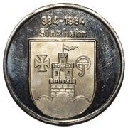 Jeton - 1100th Anniversary of Sinzheim – revers