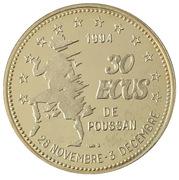 30 écus de Poussan [34] – revers