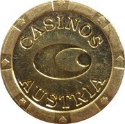 Jeton - Casinos Austria – revers