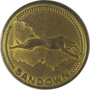 Jeton - Sandown Greyhound Racing – revers