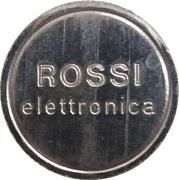 Jeton - Rossi elettronica – avers