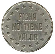 Jeton - Ficha No Tiene Valor (Jocker) – revers