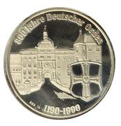 Ville de Bad Mergentheim et de l'Ordre Teutonique – revers