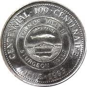 2 Dollars - Sturgeon Falls Centennial – revers